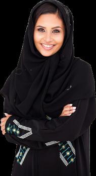 a girl with hejab